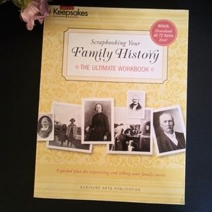 Scrapbooking Your Family History Book..Workbook